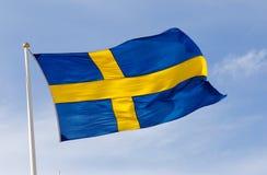 Indicateur suédois Photographie stock