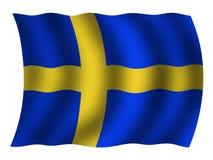 Indicateur suédois Photo stock