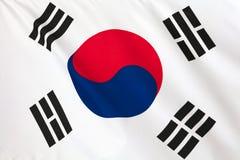 Indicateur sud-coréen Images libres de droits