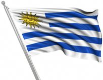 indicateur Uruguay illustration de vecteur
