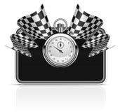 Indicateurs Checkered Image libre de droits