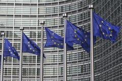 indicateurs d'Européen de Bruxelles images stock