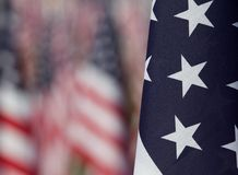 Indicateurs dans les domaines curatifs pour 9/11 Image stock