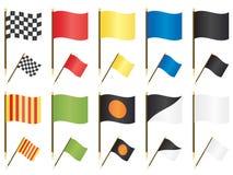 Indicateurs de Formule 1 Photographie stock