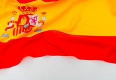 Indicateurs de l'Espagne Photographie stock libre de droits