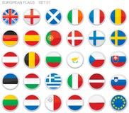 indicateurs de l'Europe Image stock