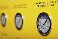 Indicateurs de pression Images stock