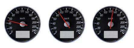 Indicateurs de vitesse image libre de droits