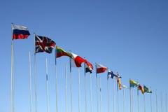 Indicateurs internationaux Photos libres de droits