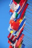 Indicateurs internationaux Photographie stock libre de droits