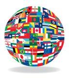 indicateurs sous la forme de globe illustration libre de droits