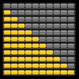 Indication. Realistic loading indicators. Vector illustration Royalty Free Stock Images