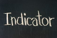 INDICATOR Stock Photo