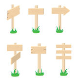 Indicator. Different versions of the wood indicators, illustration Stock Photos