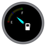 Indicator fuel device Royalty Free Stock Photos