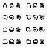 Indicator icons Stock Photos