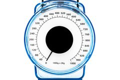 Indicator of kitchen scales Royalty Free Stock Photography