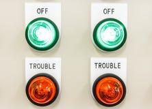 Indicator lamp. Stock Images