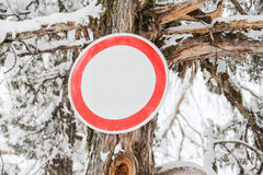 Indicator sign Stock Photography