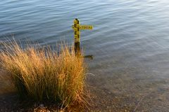 indicator2 ύδωρ επιπέδων Στοκ εικόνα με δικαίωμα ελεύθερης χρήσης