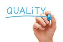 Indicatore del blu di qualità Fotografia Stock Libera da Diritti