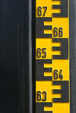 Indicatore del livello dell'acqua Immagine Stock Libera da Diritti