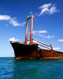 Indicatore del naufragio Fotografia Stock