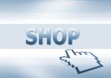 Indicatore del negozio   Immagini Stock Libere da Diritti