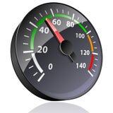 Indicatore dell'indicatore. illustrazione di stock