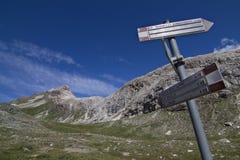 Indicatore della montagna Fotografia Stock Libera da Diritti