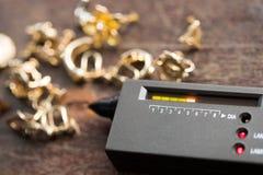 Indicatore di Diamond Tester Gemstone Selector Gem LED fotografia stock libera da diritti