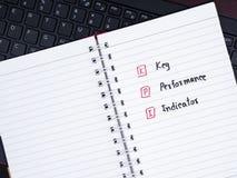 Indicatore di efficacia chiave sulla tastiera 1 del computer portatile Fotografie Stock Libere da Diritti