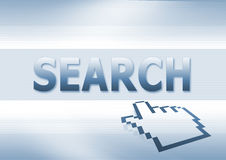Indicatore di ricerca Fotografie Stock Libere da Diritti