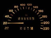 Indicatore di velocità Fotografie Stock Libere da Diritti