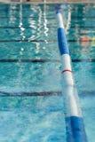 Indicatore di vicolo della piscina Immagine Stock Libera da Diritti