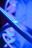Indicatore luminoso al neon fotografie stock libere da diritti