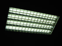Indicatore luminoso al neon fotografie stock