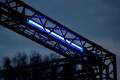 Indicatore luminoso al neon Fotografia Stock