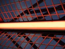 Indicatore luminoso al neon Fotografia Stock Libera da Diritti