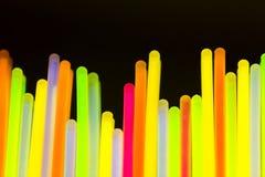 Indicatore luminoso al neon variopinto Fotografie Stock