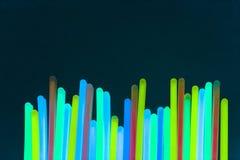 Indicatore luminoso al neon variopinto Immagini Stock Libere da Diritti