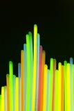 Indicatore luminoso al neon variopinto Fotografia Stock