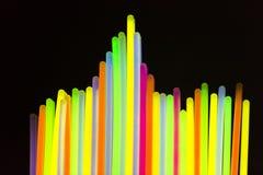Indicatore luminoso al neon variopinto Immagini Stock