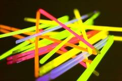 Indicatore luminoso al neon variopinto Immagine Stock Libera da Diritti
