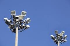 Indicatore luminoso al suolo (semaforo) Immagini Stock