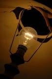 Indicatore luminoso alla notte Fotografie Stock Libere da Diritti