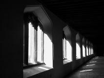 Indicatore luminoso & oscurità Immagini Stock