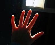 Indicatore luminoso & polvere Fotografie Stock