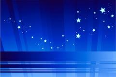 Indicatore luminoso astratto della stella Immagini Stock