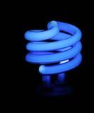 Indicatore luminoso blu del risparmiatore di soldi Immagini Stock Libere da Diritti